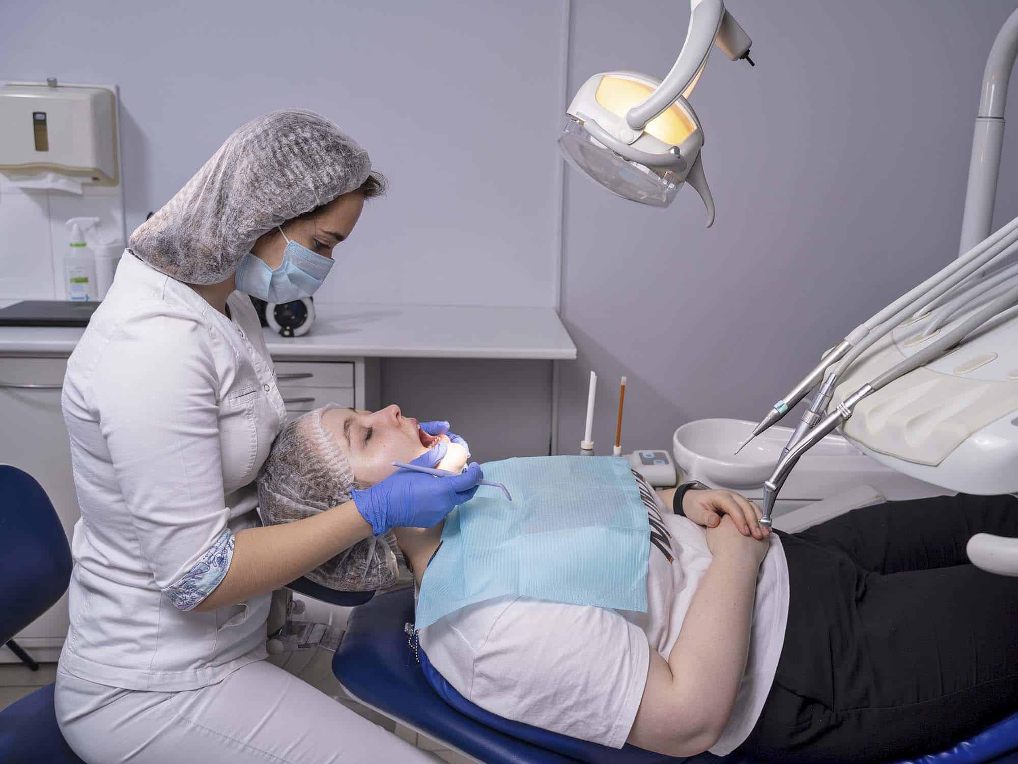 Восстановление культи зуба